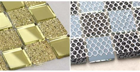 mirrored wall tiles how to mosaic tile a mirror diy from