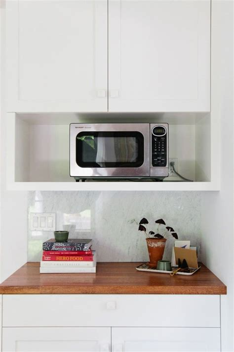 11 Strategies For Hiding The Microwave  Remodelista