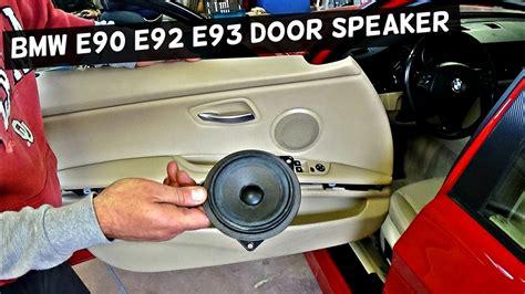 bmw front door speaker replacement