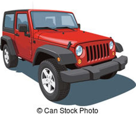 red jeep clipart jeep vector clipart royalty free 1 581 jeep clip art