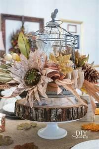 Decorative Fall Centerpiece - DIY Show Off ™ - DIY