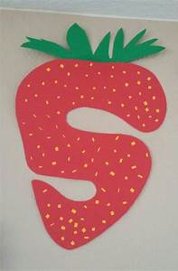 s for s s s strawberry letter art for preschoolers and With arts and crafts letters