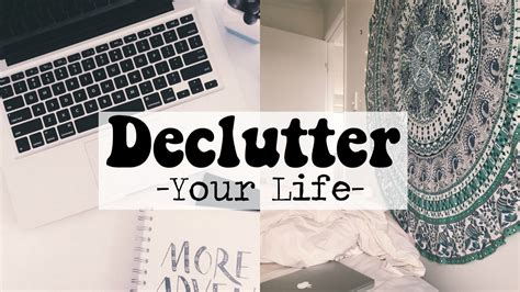 How To Declutter Your Life For 2017 // Declutter Your Room Or House