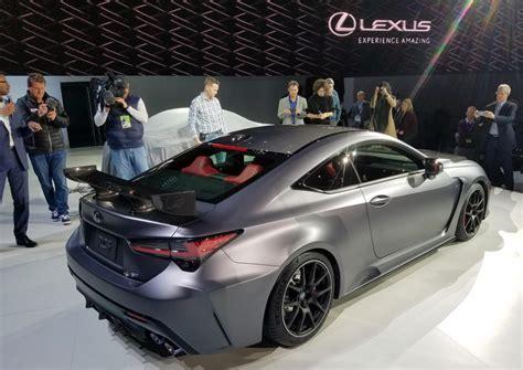 detroit auto show  lexus rc   rc  track