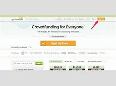 go funding page