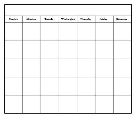 monthly calendar templates month printable calendar