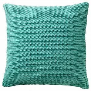 Ikea Kissenbezüge 50x50 : s tholmen housse de coussin int rieur ext rieur turquoise 50x50 cm ikea ~ Orissabook.com Haus und Dekorationen