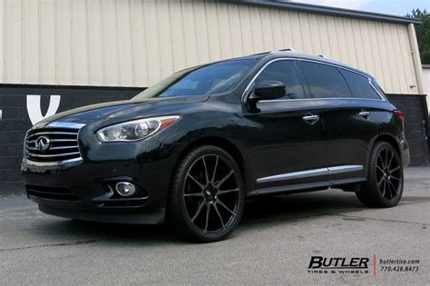 infiniti jx   savini bm wheels exclusively