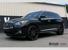 Infiniti JX35 with 22in Savini BM12 Wheels exclusively