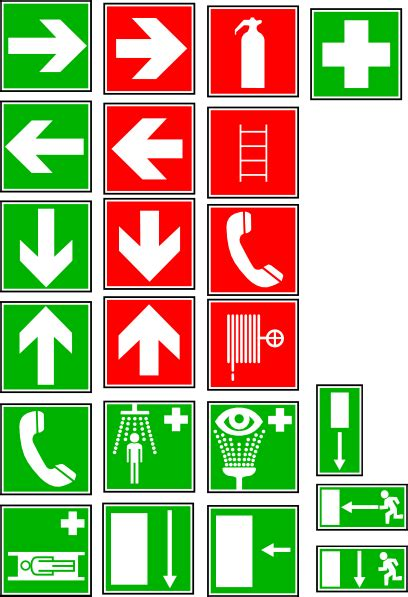 safety  security symbols clip art  clkercom vector