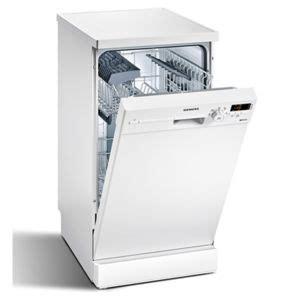 siemens lave vaisselle 45cm 9 couverts a pose libre blanc sr25e205eu achat lave vaisselle a