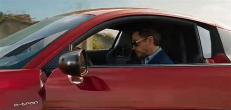 iron man tony stark drives audi   tron   ad video