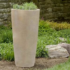 Tall Outdoor Planters With Nice Terra Cotta Round Aluan