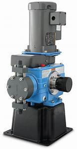 The Wallace And Tiernan Series 44 Metering Pump