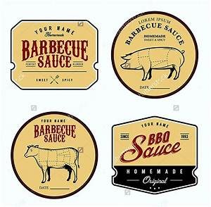 Free bbq sauce label template template update234com for Bbq sauce label template