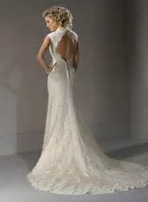 lace wedding dress lace wedding dress with open back sang maestro