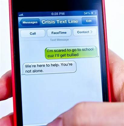 Crisis Text Line Hotline Suicide Texting Deaf