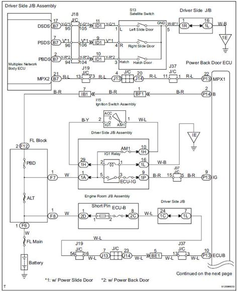 2011 Toyotum Wiring Diagram by Toyota Service Manual Power Back Door Does Not
