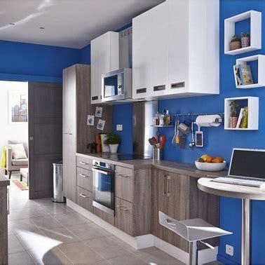 la cuisine bleu  ladore deco cool