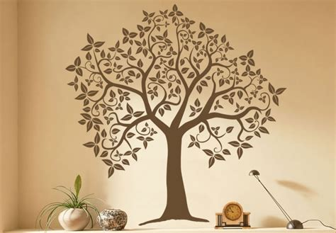tree wall decor stickers crown tree wall decal a magical home decor