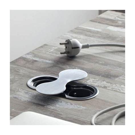 prise electrique encastrable plan de travail cuisine bloc prise de plan de travail encastrable 2 prises electricite et eclairage prises