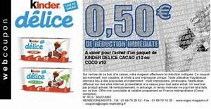 Bon De Reduction Lustucru : bons de r duction kinder pour p ques 2019 ~ Maxctalentgroup.com Avis de Voitures