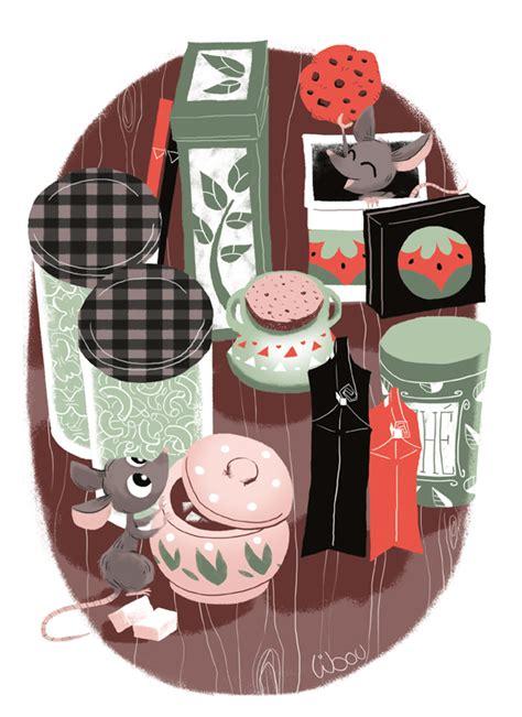 des souris dans la cuisine libou