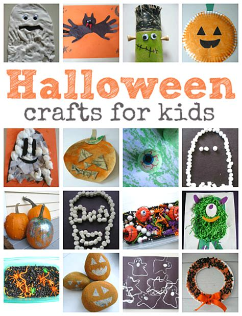 easy crafts for 608 | Easy Halloween Crafts For Kids