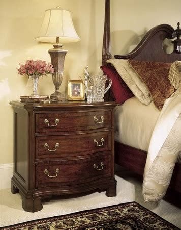 cherry grove rice carved pediment poster bedroom set
