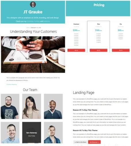 author page template genesis genesis showcase pro review studiopress worth