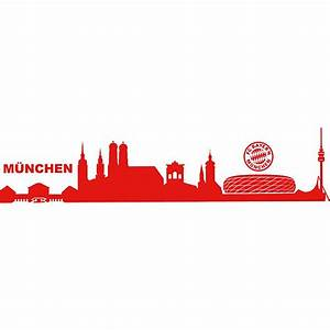 Außergewöhnliche Weihnachtsmärkte Bayern : wandsticker fc bayern m nchen skyline fu ballverein fc bayern m nchen mytoys ~ Whattoseeinmadrid.com Haus und Dekorationen
