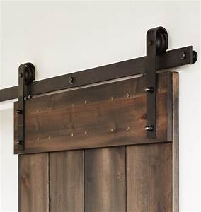 Sliding door hardware for pocket and wall mounted doors for Barn door rollers lowes