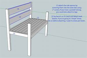 PDF DIY Garden Bench Plans With Back Download hall tree