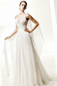 buy cheap v neck chiffon ruffle sweep train affordable With buy wedding dress