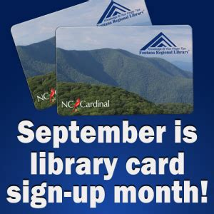 Library Card Signup Month  Shelf Life In The Mountains