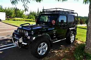 Buy Used 2000 Jeep Wrangler Tj Sport 4 0l  5spd Black Cold