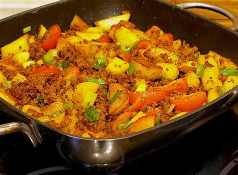 rezepte mit hackfleisch und kartoffeln schnelle gerichte mit hackfleisch und kartoffeln