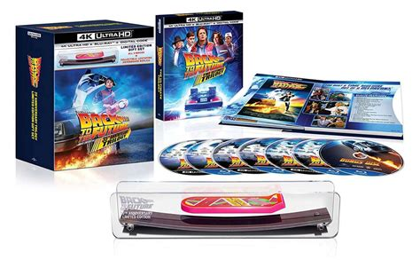 Back to the Future Trilogy 4K Blu-ray Sets Are Shipping Now