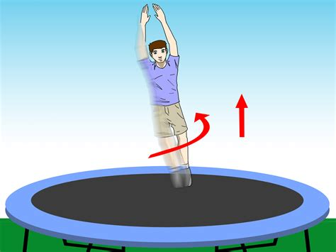 My Trampoline Tricks How To Video 10 Step How To Do