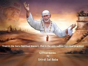 Spiritual Surre... Shirdi Sai Motivational Quotes