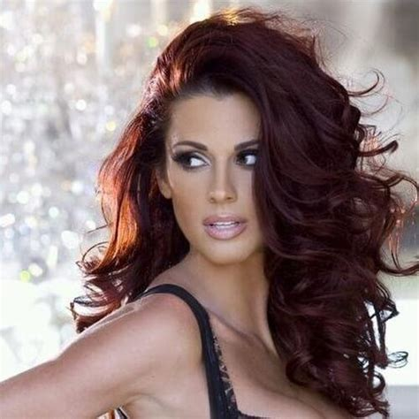 chocolate cherry brown hair color hair color trends
