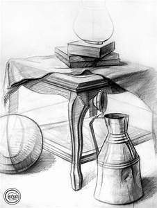 Objects - Charcoal Drawing II by CanIpek on DeviantArt