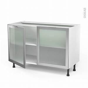 beautiful modele de placard pour cuisine en aluminium With porte d entrée alu avec rangement salle de bain noir
