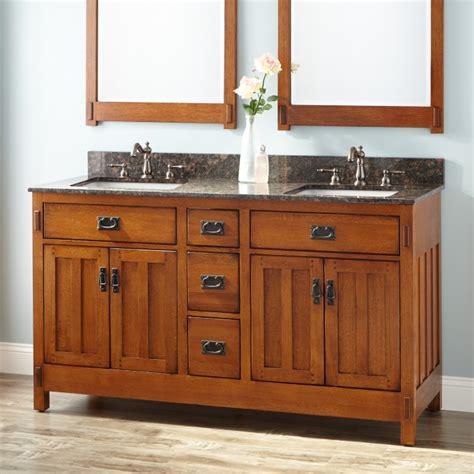 Bathroom Vanities 60 Sink by 60 Quot American Craftsman Vanity For Rectangular Undermount