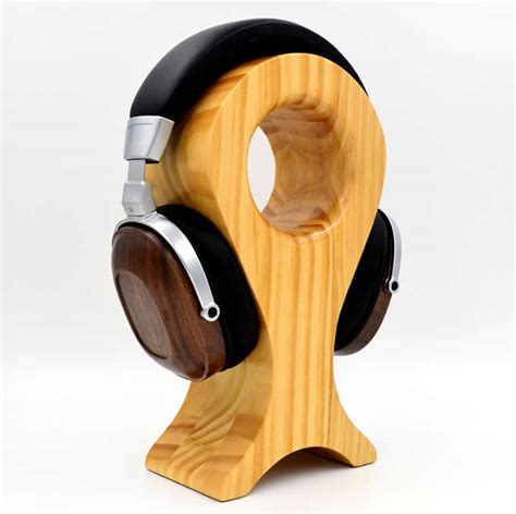 wooden headphone stand fit   headphone sizes