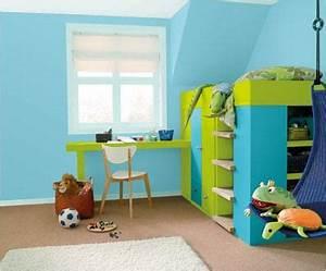 couleurs du monde la sensation couleur par dulux valentine With chambre enfant bleu et vert