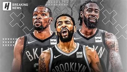 Kyrie Nets Irving Durant Kevin Deandre Jordan