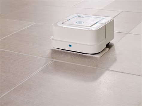 the braava is irobot s new roomba and this one mops wired