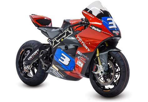 Victory Electric Prototype Race Motorcycle