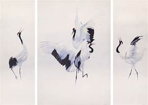 Image Gallery japanese crane art